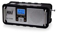 Emergency Weather Alert Radio NOAA/AM/FM Solar Charger Hand Crank Flashlight