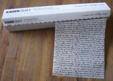 ~ Die Release Paper Rolls x 2 ~ by Kaisercraft Die Cut Scrapbooking Cardmaking
