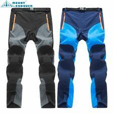 Fishing Men's Quick Dry Outdoor Pants Hiking Camping Lightweight Trousers 2020