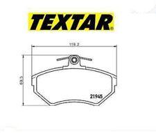 2194502 Kit pastiglie freno a disco anteriore Audi-Seat-Skoda-Vw (MARCA-TEXTAR)