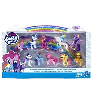 "My Little Pony Rainbow Equestria Favorites 2.5"" Mini Figures Collection Pack"