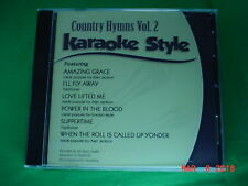 Country Hymns~#2 ~ Christian ~ Daywind ~ Karaoke Style ~~ Love Lifted Me ~~ CD+G