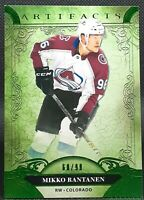 Mikko Rantanen 🏒 2020-21 UD Artifacts Colorado Avalanche Hockey /99