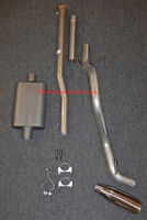 13 - 15 Toyota Tacoma Cat-back Single Exhaust Side Exit - w/ FullBoar 2 Chamber