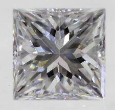 0.32 Carat H Color VVS2 Princess Enhanced Natural Loose Diamond 3.83X3.70mm