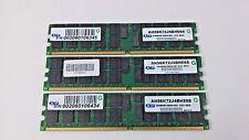 ATP 3 x2GB DDR SDRAM PC Memory Card MIX 6GB AH56K72J4BHE6S 2048MB DDR2-667 ECC
