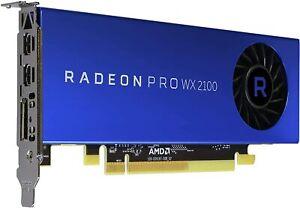 Dell AMD Radeon Pro WX 2100 - Customer Kit - graphics card - 2 G