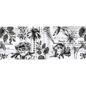 Tim Holtz Idea-Ology Collage Paper - Botanicals 6yds