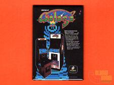 "Galaga flyer 2x3"" fridge/locker magnet arcade Bally Midway"