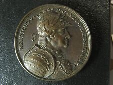 King Henry V Jean Dassier medal 1730s 39.8mm 26.96g England