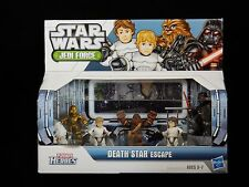 PlaySkool Heroes Star Wars Jedi Force Death Star Escape Figure Set NEW