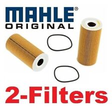 2-oem Mahle Oil Filter Porsche Boxster Cayman 2009 to 2012