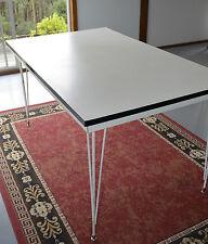 Original Vintage Retro 70's White Formica Laminate Kitchen Table