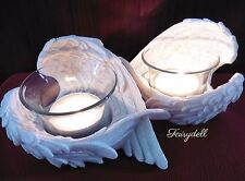 ANGEL WING TEA LIGHT CANDLE HOLDERS ~ WINGS ORNAMENT REMEMBRANCE MEMORIAL