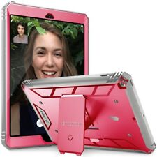 Poetic Apple iPad 9.7 Rugged Case [Revolution Series] Shockproof TPU Cover Pink