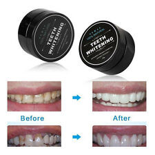 Organic Useful Natural Charcoal Teeth Whitening Powder Stain Remover Yellow 30g