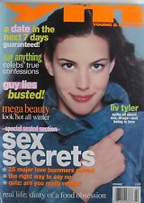 LIV TYLER February 1997 YM YOUNG & MODERN Magazine