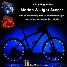 20 LED Bicycle Bike Cycling Rim String Lights Auto Open Close Wheel Spoke Light