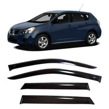 For Pontiac Vibe II 2008-2009 Side Window Visors Sun Rain Guard Vent Deflectors