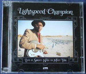 Lightspeed Champion – Life Is Sweet! Nice To Meet You. With bonus CD