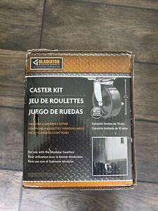Gladiator GACK04KDSX Ready-to-Assemble Caster Kit