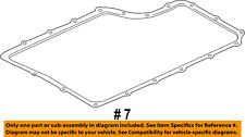 FORD OEM 11-18 F-250 Super Duty Automatic Transmission-Pan Gasket BC3Z7A191B