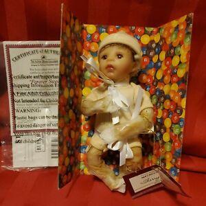 Ashton Drake M&M- Forever Sweet- Baby Doll Miniature- Open Box, Unused
