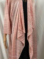 Lularoe Women's Shirley Kimono Light Pink sz M - Medium