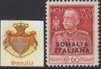 ITALY SOMALIA  Giubileo perf.11 Sassone n. 67  Signed DIENA cv 930$ MNH**
