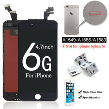 For iPhone 6 4.7 LCD Touch Screen Display Digitizer Assembly Black Replacement