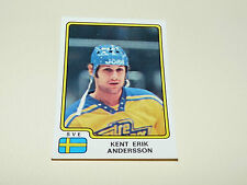 N°200 ANDERSSON SUEDE SVERIGE PANINI HOCKEY 79 ICE GLACE 1979 CHAMPIONNAT MONDE