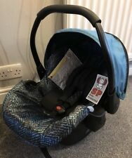 Brand New Hauck Icoo Rear Facing Infant Car Seat - Blue - Includes Cosytoes