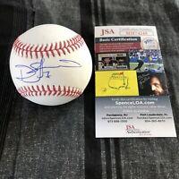 Donovan Solano Signed Baseball Autographed Auto San Francisco Giants + JSA COA