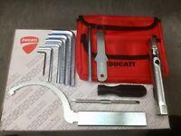 Ducati Tool Kit Complete + Tool Bag 748 916 996 BRAND NEW Genuine Ducati Parts.