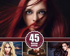 40 Fashion Woman eyes eyelash Photo Overlays, make up Photography Overlays, psd