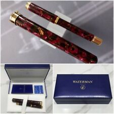 Waterman Blue Box Size 155 x 27 x16mm B241 Made in England Rare Collectible Waterman Pen Box Fountain Pen Case