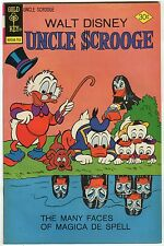 "Uncle $crooge #138 - ""The Many Faces Of Magica De Spell!"" - (Grade 7.5)WH"
