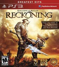 Kingdoms of Amalur: Reckoning PS3 New PlayStation 3, Playstation 3
