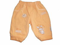 Jacky Baby tolle Sweat Hose Gr. 56 orange mit tollen Applikationen !!