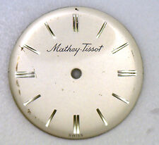 Antique Vintage MATHEY TISSOT Round Wrist Watch Dial Face 22.5 mm Diameter #W370