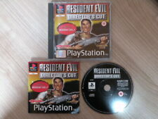 Sony PlayStation 1 Juego * Resident Evil director Cut * Completo PS1 Raro Retro
