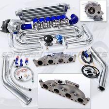 For VW AUDI 1.8L MANIFOLD  TURBO CHARGER 1.8T T3 T04E T3/T4 CAST IRON TURBO KIT