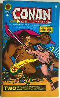 CONAN THE BARBARIAN vol 4 Barry Smith (1978) Marvel Comics Ace color pb 1st FINE