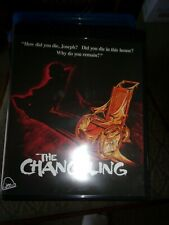 THE  CHANGELING-  BLU-RAY -  WATCHED ONCE!!