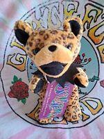 "Grateful Dead Bear Delilah Plush 6"" Bean Bag Birthday 6/21/1980 West High Aud."
