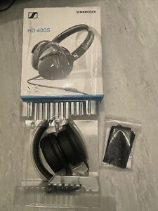 Sennheiser HD 400S Over the Ear Headphones - Black
