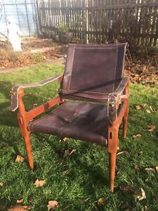 "Pair Of Hayat Brothers Safari ""Roorkee"" Campaign Chairs"
