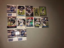 Reggie Wayne Lot of 12 Colts 10 Different Cards Base, Parallel, Rookie