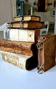 Important collection of Old & Rare books 16th till 18th century