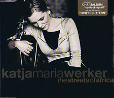 Katja Maria Werker - Streets of Africa (3 track) Maxi Single CD Hinter Gittern